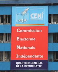 Siège de la Ceni à Kinshasa. Radio Okapi/ Ph. John Bompengo